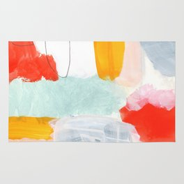 abstract painting XVI Rug