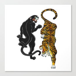 Big Cats Canvas Print