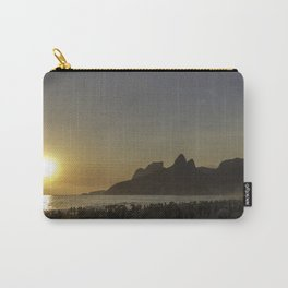 Sunset at Ipanema Beach Carry-All Pouch