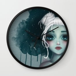 luna Wall Clock