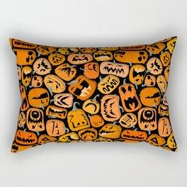 Pumpkin Brawl. Rectangular Pillow