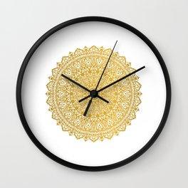 Beautiful Mandala Wall Clock