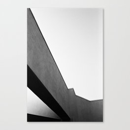LAX Abstract Canvas Print