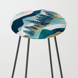 Summer Forest Counter Stool