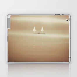 Enjoying the sea. Laptop & iPad Skin