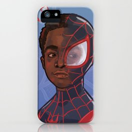 Miles Morales iPhone Case
