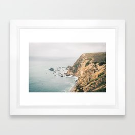 Northern California Coast Framed Art Print