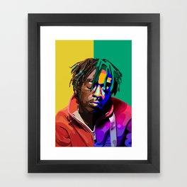 Lil Uzi Vert Framed Art Print