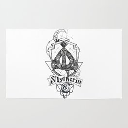 The Cunning House of Slytherin Rug