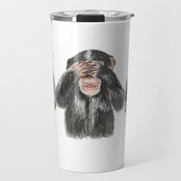 Hear No Evil, See No Evil, Speak No Evil Travel Mug