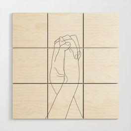 Never Let Me Go II Wood Wall Art