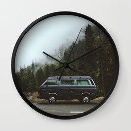 Northwest Van Wall Clock