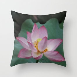 Hangzhou Lotus Throw Pillow