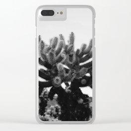 Cholla Cactus Garden XI Clear iPhone Case