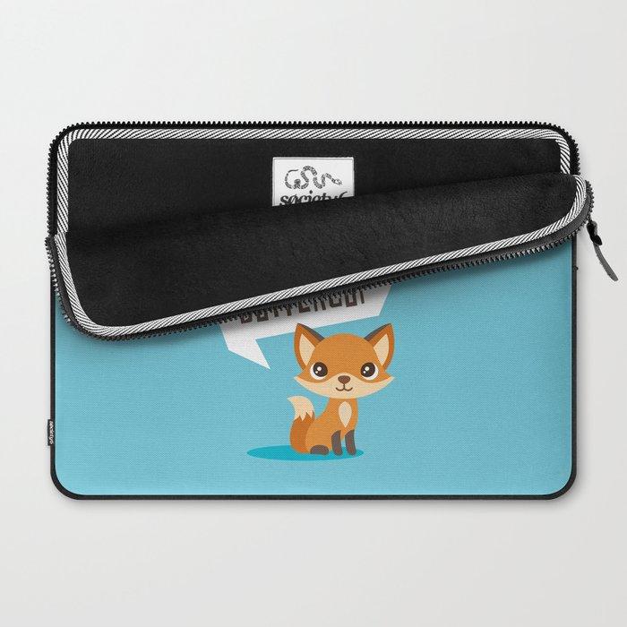 Buttercup Fox Laptop Sleeve