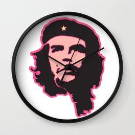 Che Guevara portrait fun Wall Clock
