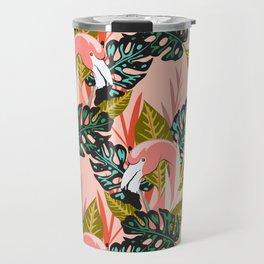 Flamingo - Pink Travel Mug