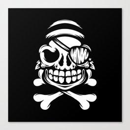 Jolly Pirate Canvas Print