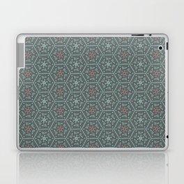 Going Round and Round - Pink/Aqua/Grey Laptop & iPad Skin