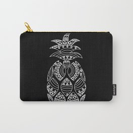 Ornate pineapple - inverted Carry-All Pouch