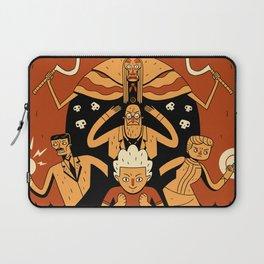 Super Science Friends Kickstarter Poster Laptop Sleeve