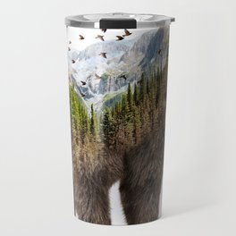 Wild I Shall Stay | Bear Travel Mug
