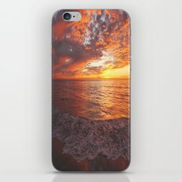 Inspirational Sunset by Aloha Kea Photography iPhone Skin
