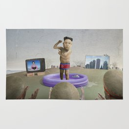 The Child Dictator—Kim Jung Un Rug
