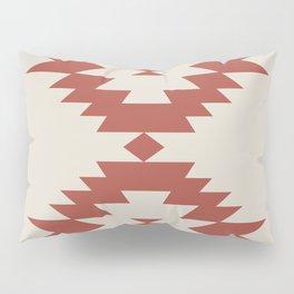 Southwestern Minimalism - Scarlet Red Pillow Sham