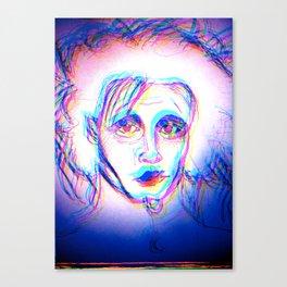 scissor hands eddie Canvas Print