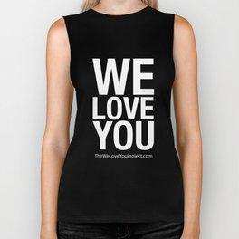WE LOVE YOU (updated) Biker Tank