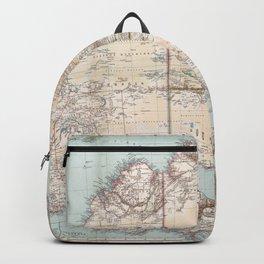 Australian Topography Map (1911) Backpack