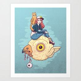 Bird Friends Art Print