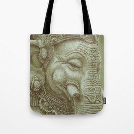 Ganesh green Tote Bag