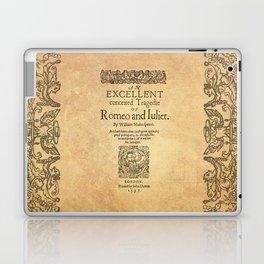 Shakespeare, Romeo and Juliet 1597 Laptop & iPad Skin