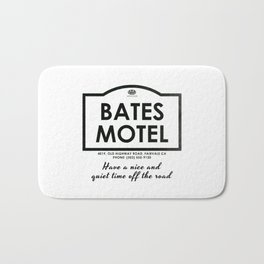PSYCHO - Bates Motel welcomes you Bath Mat