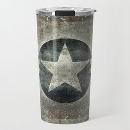 Stylized US Air force Roundel Travel Mug