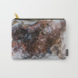 Tiny geode crystal cave Carry-All Pouch