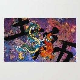 Koi and Dragon Rug