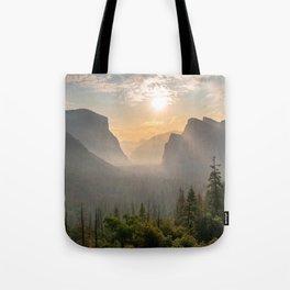 Morning Yosemite Landscape Tote Bag