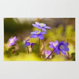 Wildflowers Spring Forest #decor #society6 #buyart Rug