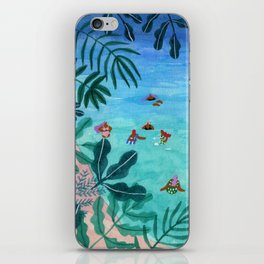Meet me somewhere in the middle iPhone Skin