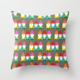 BFF Gnomes I Throw Pillow