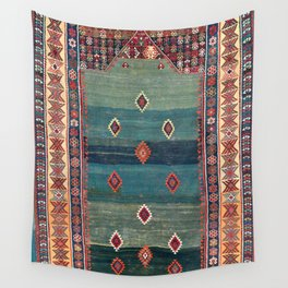 Sivas Antique Turkish Niche Kilim Print Wall Tapestry