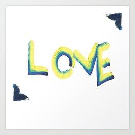 lovepaint Art Print