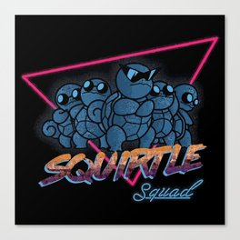 Awesome Squad Canvas Print