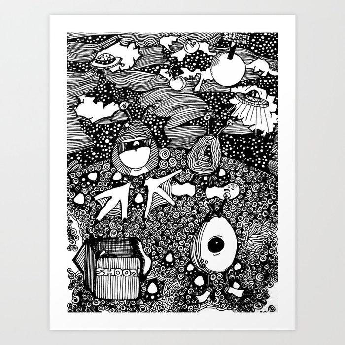 Planet Shooz | Limited Edition of 50 Prints Art Print