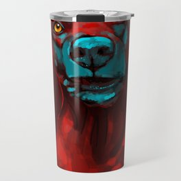 The Dogs: Rufus Travel Mug