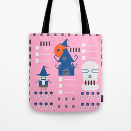 Fantastic Halloween in pink Tote Bag