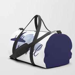 Travel illustration Duffle Bag